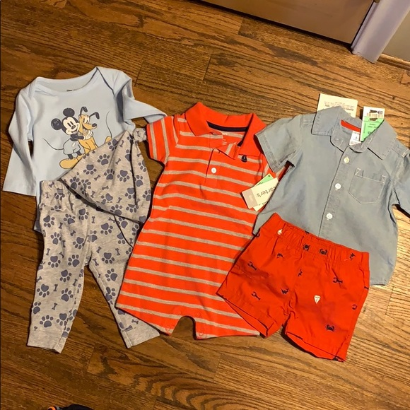 Disney Other - 6m boy bundle